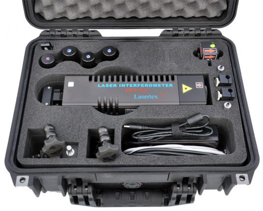 HPI-3D Standard set in case