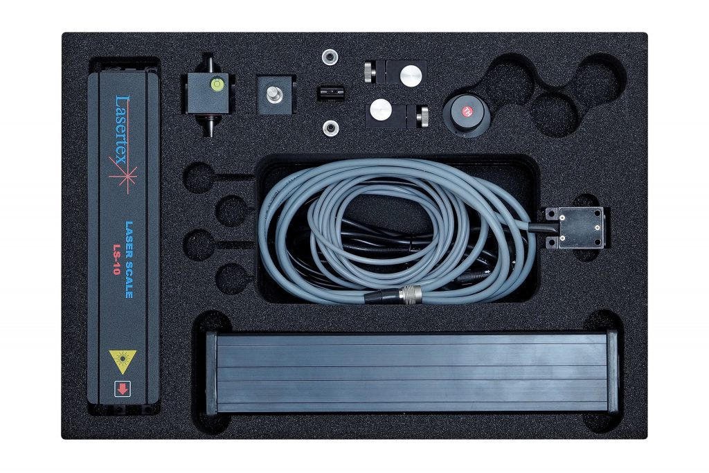 Laser encoder LS-10 inside the box