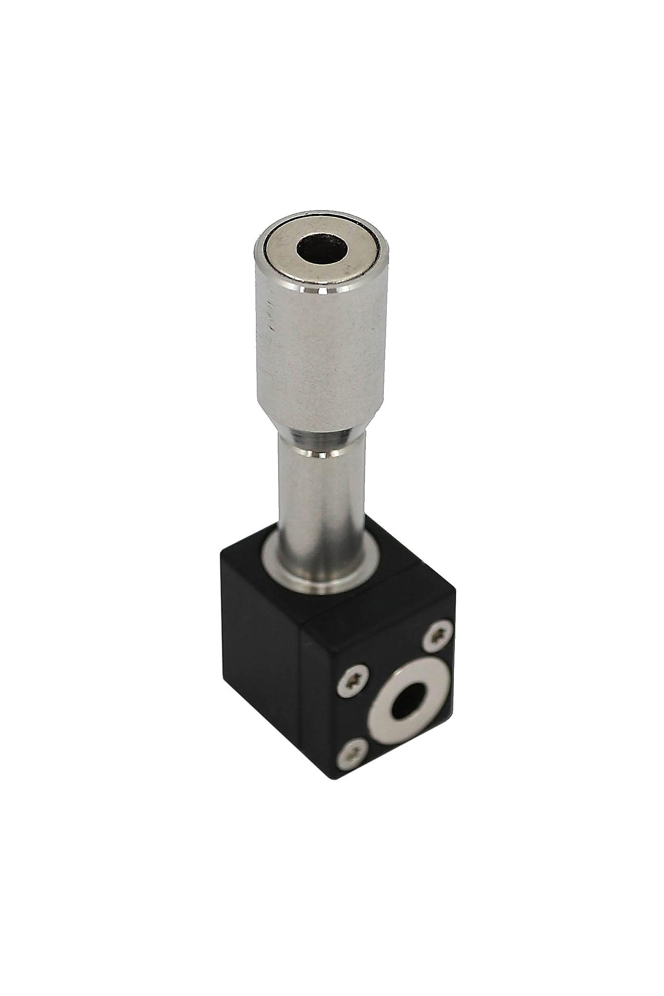 Reflector prism for laser encoder